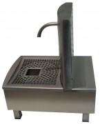 Fontaine à cocktail inox - Contenance : 12 ou 24 litres - Profondeur : 42 ou 63 cm