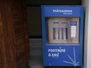 Fontaine à eau fraîche intérieure et extérieure - Largeur : 120 cm - Hauteur : 180 cm