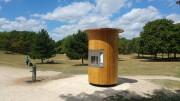 Fontaine à eau fraîche public - Largeur : 150 cm - Hauteur : 270 cm