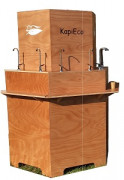 Fontaine à eau raccordable - Munie de 12 robinets inox