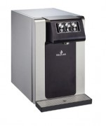 Fontaine comptoir à eau réfrigérée et tempérée sur réseau - Options: eau chaude - eau gazeuse