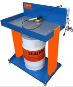 Fontaine de dégraissage à solvant - Pour fût de 20 à 60 L - Surface de travail : 830 x 500 mm