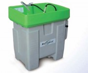 Fontaine de dégraissage pour matériel industriel - Charge: 100 kg - Remplissage optimal : 90 litres