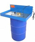 Fontaine de dégraissage sur fût - Surface de travail : 830x500 mm - Sur fût de 200 à 215L