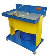 Fontaine dégraissage mécanique sur fût - Surface de travail : 1145 x 660 mm