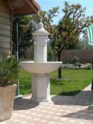 Fontaine en pierre reconstituée - Diamètre du bassin : 1 m
