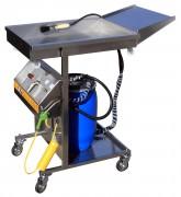 Fontaine Inox Mobile de Nettoyage des Systèmes de Freins VL et PL - Pour nettoyage des systèmes de freins VL-PL SANS SOLVANT