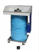 Fontaine nettoyage solvant - Dégraissage manuel de pièces mécaniques - 2 modèles - En acier