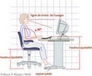 Formation aux troubles musculo squelettiques liés au travail sur écran