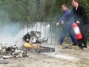 Formation utilisation extincteur - Sécurité Incendie