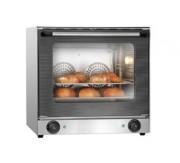 Four à convection chambre de cuisson en acier inox -   Réglage de la température : mécanique en continu