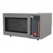 Four à micro-ondes sol fixe céramique - Fabrication espagnole - Intérieur et extérieur Inox - Capacité :25  litres