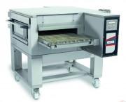 Four à pizza convoyeur inox - Jusqu'à 135 pizzas  20cm /h - Gaz ou électrique