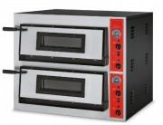 Four à pizza électrique 2 étages - Capacité de 4 pizzas par étage