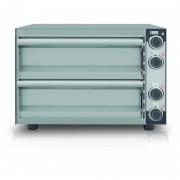 Four à pizza électrique compact - Fabrication européenne - Température de 50 à 320°C - Modèle : 1 - 2 niveaux