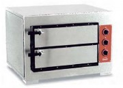 Four à pizza électrique en acier inox - Dimension (L x P x H) mm : Jusqu'à 860 x 1100 x 770