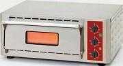 Four à pizza professionnel 1 ou 2 chambre - 1 ou 2 chambre - À quartz infrarouge (1050 °C) avec pierre refractaire