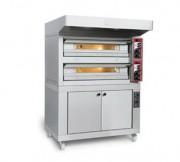 Four à pizza professionnel cuissons électriques/gaz - Plusieurs modes de cuisson des pizzas