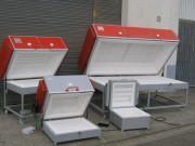 Four de fusing et thermoformage - Capacité (litres) : de 40 à 1125