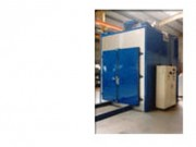 Four de traitement thermique - Montage avec matériel antidéflagrant