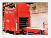 Four industriel à tapis - Porte guillotine - Intérieur étanche - gaz chauffage