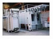 Four industriel pour traitement thermique - À balancelles - à convoyeur - à manipulateur
