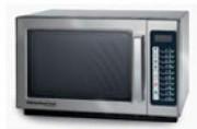 Four micro-ondes 100 programmes - Temps de cuisson : 60 minutes - Système de contrôle :  Touches