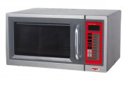 Four micro-ondes professionnel inox - Puissance globale : 1000 watts