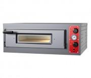 Four pizza électrique en acier inox - Puissance : de 5 à 10 kW  - Alimentation : 380V 3Ph+N+T - Modèle : simple / double