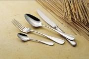 Fourchette de service 'Baguette' en inox - Epaisseur: 25/10e - Poids: 0,10 kg - Inox 18/10
