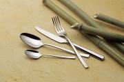 Fourchette en inox - Epaisseur : 25/10e - Poids : 0,05 Kg