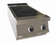Fourneau infrarouge top électrique - Dispositif de thermo réglage - Puissance : 10 ou 20 kW