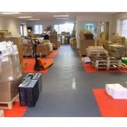 Fourniture et pose revêtement de sol industriel - Résistance : entre 25 et 50 tonnes/m²