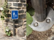 Fourreau ancrage urbain - Hauteur limitée : 300 ou 350 mm