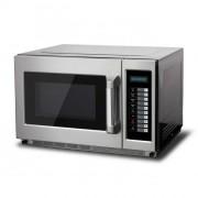 Fours à micro ondes 34 L - Extérieur et intérieur inox - Capacité : 34 L - Modèle programmable