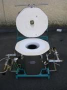 Fours de fusion bronze à gaz - Poids (Kg) : 170