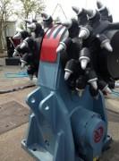 Fraise hydraulique pour pelle chantier 50/70 tonnes - Tambours de profilage, excavation ou démolition