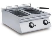 Friteuse à gaz 2 paniers - Capacité : 2 x 8 L