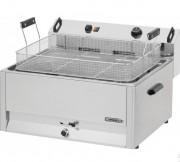 Friteuse électrique à cuve 30 litres pour cuisson beignets - Cuve à angles arrondis, thermostat de sécurité