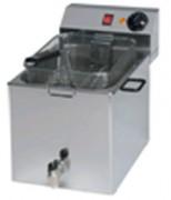 Friteuse électrique professionnelle 8 litres - Dimensions (mm) : 340 x 540 x 250