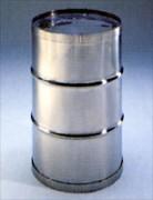 Fût en acier inoxable dim 460 mm - 70 à 140 L