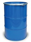 Fût en acier peint - Stockage de produit dangereux – Capacité : 212 litres