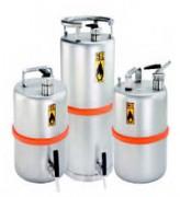 Fûts de sécurité inox - Capacité de stockage 10 litres à 25 litres