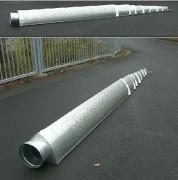 Gaine de ventilation télescopique - Télescopique et triangulaire - De 5,5 à 20 m de long