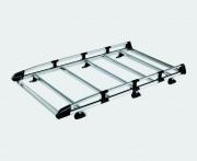 Galerie aluminium modulaire - Largeur et longueur suivant véhicule  -  Capacité de charge : 180 kg