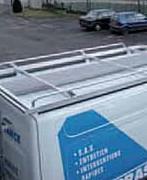 Galerie de toit utilitaire - En aluminium - Sur mesure