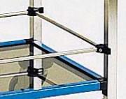 Galerie pour chariot médical - Dimensions chariots (mm) : 600 x 400 et 750 x 500