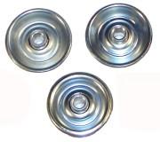 Galets acier - Capacité unitaire : 30 kg - Diamètre galet : 48 mm