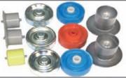 Galets plastiques en polypropylène - Capacité utilitaire : 8 kg  -  Utilisation : 0 à 60°C