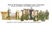 Produits d'entretien écologiques - Produits d'entretien bio 100% naturel